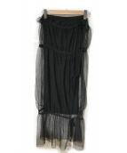 TAN(タン)の古着「リブスカート」|ブラック