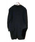 Ys(ワイズ)の古着「ウールコート」|ブラック