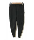()の古着「テックフリースパンツ」|ブラック