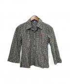 BURBERRY BLUE LABEL()の古着「ノヴァチェックシャツ」|グレー