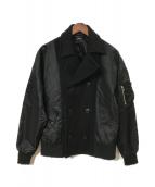 ()の古着「切替ジャケット」|ブラック