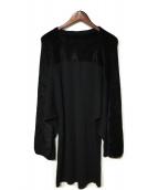 Maison Martin Margiela(メゾンマルタンマルジェラ)の古着「ロングニット」|ブラック