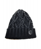 MONCLER(モンクレール)の古着「ケーブルニット帽」|グレー