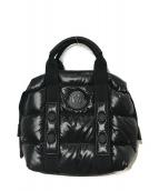 MONCLER(モンクレール)の古着「ダウンハンドバッグ」|ブラック