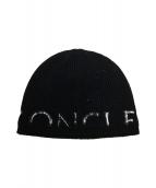 MONCLER(モンクレール)の古着「ニットキャップ」|ブラック