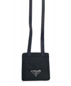 PRADA(プラダ)の古着「コインケース」|ブラック