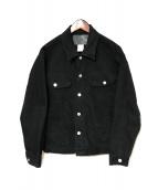 CALEE(キャリー)の古着「デニムジャケット」|ブラック