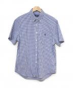 RALPH LAUREN(ラルフローレン)の古着「ギンガムチェックシャツ」 ブルー