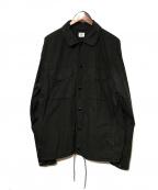 C.P COMPANY(シーピーカンパニー)の古着「50 FILI Lens Overshirt」|ブラック