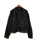 RRL(ダブルアールエル)の古着「スイングトップ」|ブラック