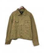 RRL(ダブルアールエル)の古着「コットンジップジャケット」|ベージュ