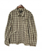 RRL(ダブルアールエル)の古着「コットンジップジャケット」|グレー