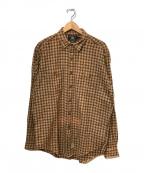 RRL(ダブルアールエル)の古着「チェックシャツ」|ブラウン