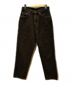 RRL(ダブルアールエル)の古着「テーパードデニムパンツ」|ブラウン