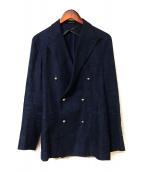 TAGLIATORE(タリアトーレ)の古着「ダブルブレストジャケット」|ネイビー