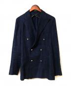 TAGLIATORE()の古着「ダブルブレストジャケット」|ネイビー