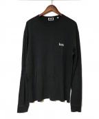 KITH(キス)の古着「ロゴロングTEE」|ブラック