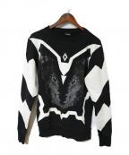 MARCELO BURLON(マルセロバーロン)の古着「ウルフスウェット」|ブラック