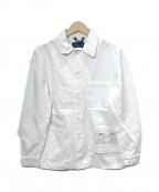Fraizzoli(フライツォーリ)の古着「ワークジャケット」|ホワイト