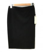 BEIGE(ベイジ)の古着「ペンシルスカート」 ブラック