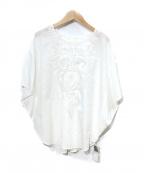 BEAUTY&YOUTH(ビューティアンドユース)の古着「刺繍ブラウス」 ホワイト