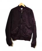 C.P COMPANY(シーピーカンパニー)の古着「ナイロンブルゾン」|ボルドー