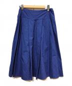 agnes b(アニエスベー)の古着「ストライプスカート」|ネイビー
