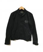 WACKO MARIA()の古着「スカルプリントコットンジャケット」|ブラック