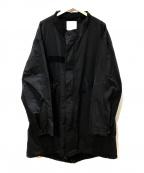 HOUSTON(ヒューストン)の古着「モッズコート」 ブラック