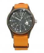 TIMEX(タイメックス)の古着「リストウォッチ」|オレンジ