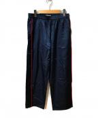 GAIJIN MADE(ガイジンメイド)の古着「サテントラックパンツ」|ネイビー
