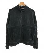 SUPREME×NIKE(シュプリーム×ナイキ)の古着「21S/S velour track jacket」|ブラック