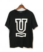 UNDERCOVER(アンダーカバー)の古着「UロゴTEE」|ブラック