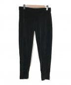 PRADA(プラダ)の古着「ベロアジョガーパンツ」|ブラック