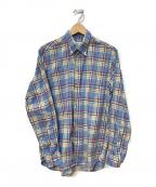 INDIVIDUALIZED SHIRTS(インディビジュアライズドシャツ)の古着「チェックシャツ」|ブルー