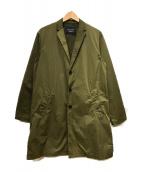 ()の古着「ライトチェスターコート」|オリーブ