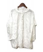 ()の古着「リネンブラウス」 ホワイト