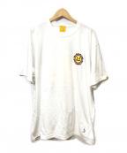 FR2(エフアールツー)の古着「プリントTシャツ」 ホワイト