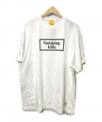 FR2(エフアールツー)の古着「No Smoking T-shirt」 ホワイト
