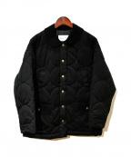 bulle de savon(ビュル デ サボン)の古着「キルティングジャケット」|ブラック