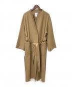 1er Arrondissement(プルミエ アロンディスモン)の古着「ノーカラーコート」|ベージュ