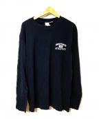 UNDEFEATED(アンディフィーテッド)の古着「プリントTシャツ」|ネイビー