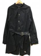 KAPITAL(キャピタル)の古着「コットンワークコート」|ブラック