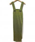 TOGA PULLA()の古着「ジャンパースカート」|イエロー
