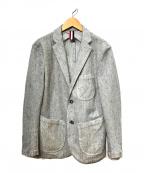 Serge Blanco(セルジュブランコ)の古着「アンコンジャケット」|ホワイト