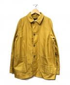 CORONA()の古着「ワークジャケット」|イエロー