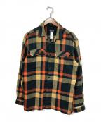 Patagonia()の古着「ヘビーネルシャツ」|ベージュ