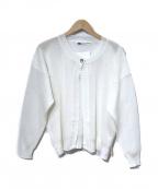 HIROKO KOSHINO(ヒロコ コシノ)の古着「長袖カーディガン」|ホワイト