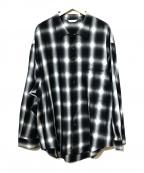 THEE(シー)の古着「オーバーサイズシャツ」|ブラック