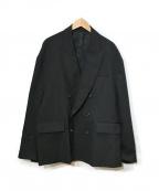 stein(シュタイン)の古着「OVERSIZERD DOUBLE BREASTED JAC」|ブラック